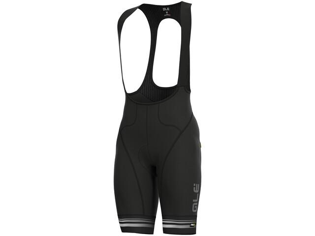 Alé Cycling Graphics PRR Slide Culotte con tirantes Hombre, black-white